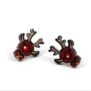 Reindeer Stud Earrings